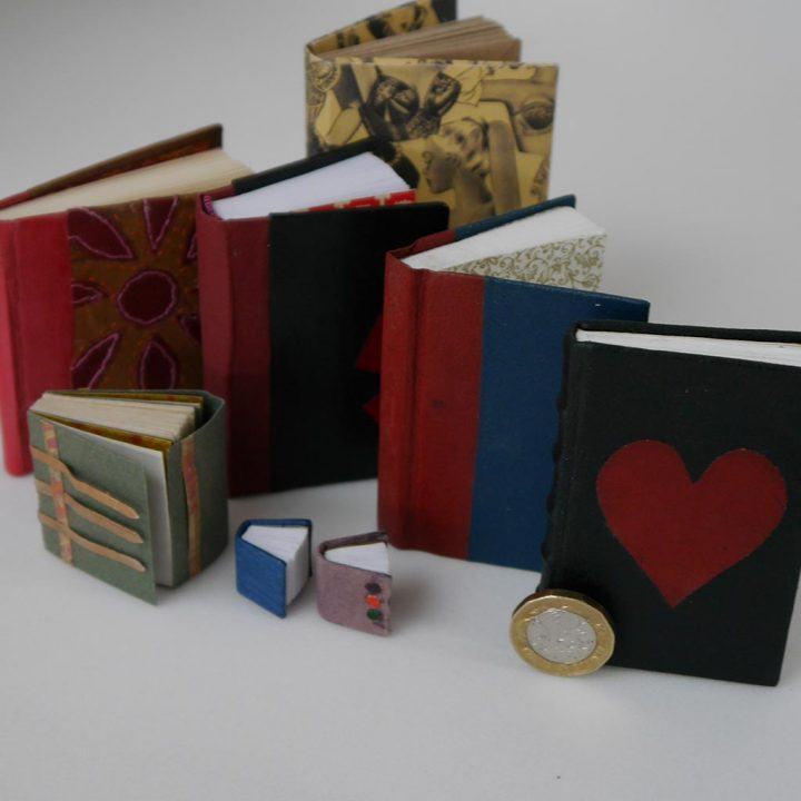 A selection of miniature books